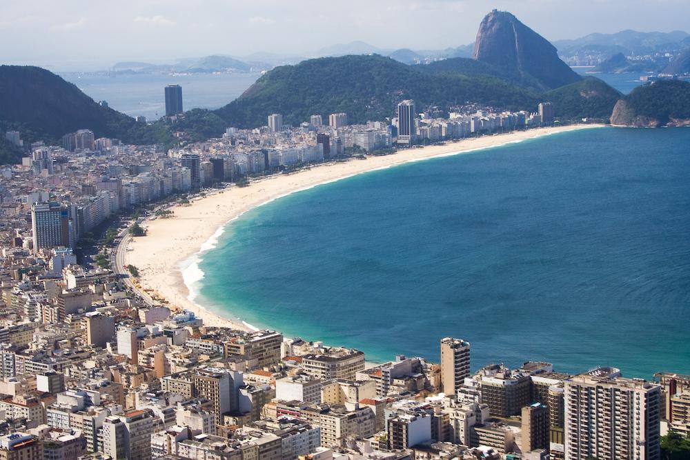 Vista da Praia de Copacabana