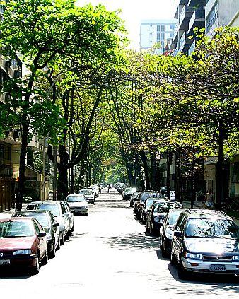 Rua José Linhares no Leblon
