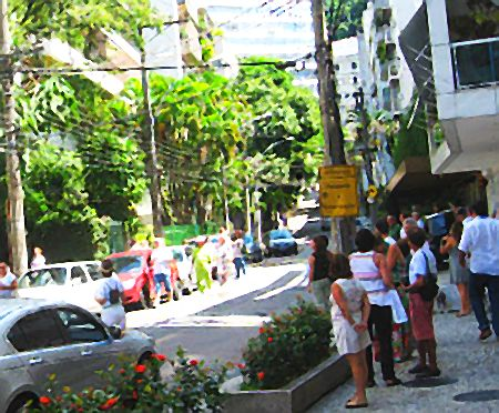 Rua Timóteo da Costa no Leblon, Rio de Janeiro