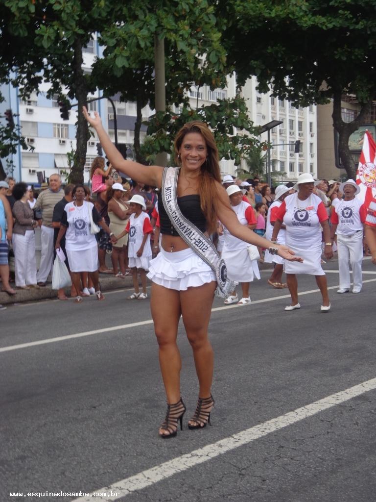 Escola de samba Alegria da Zona Sul em Copacabana