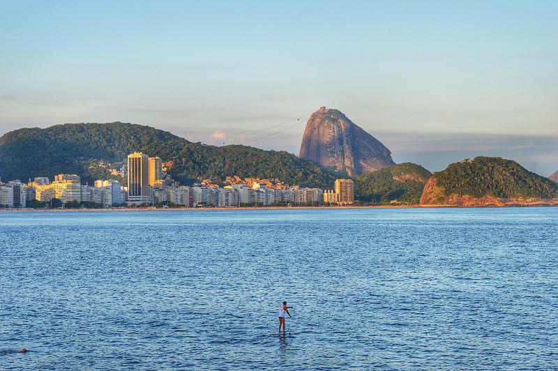 SUP na Praia de Copacabana