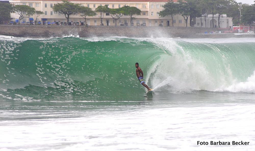 Surf no Posto 5 em Copacabana