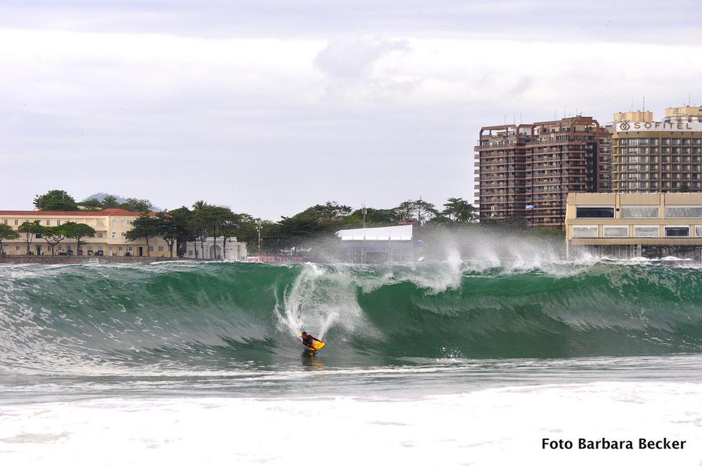 Deu onda em Copacabana
