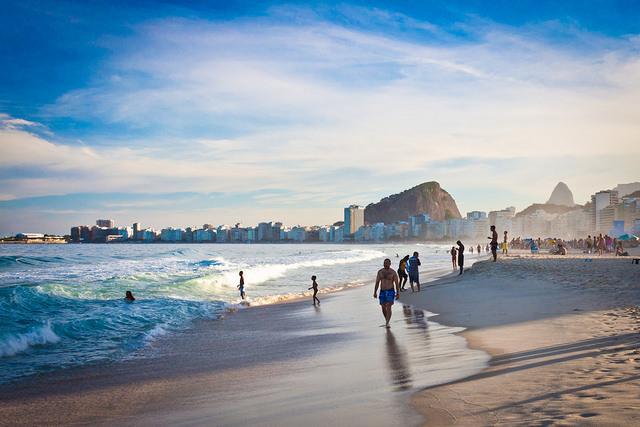 Dia de sol no inverno carioca