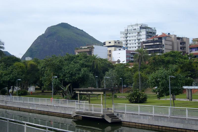 Praça Grécia no Jardim de Alah em Ipanema, Rio de Janeiro