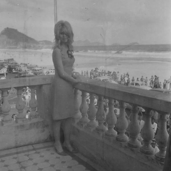 Brigitte Bardot no Copacabana Palace