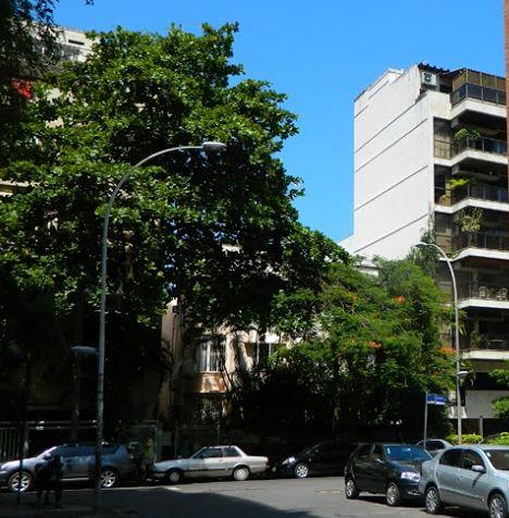 Rua Almirante Saddock de Sá em Ipanema, Rio de Janeiro