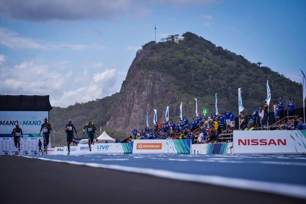 Prova de atletismo em Copacabana