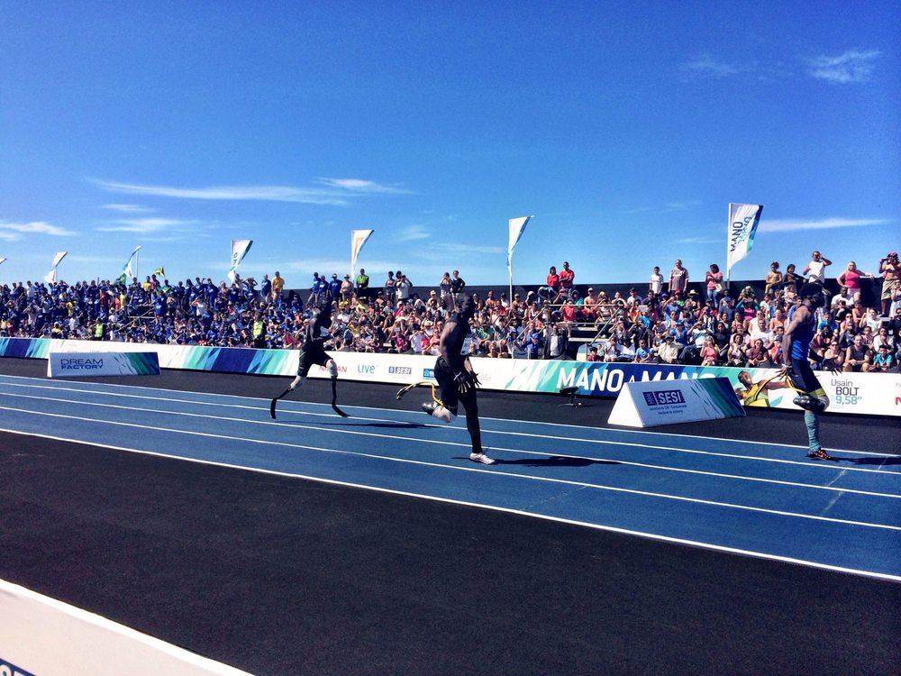 Richard Browne ganha a prova paraolímpica em Copacabana
