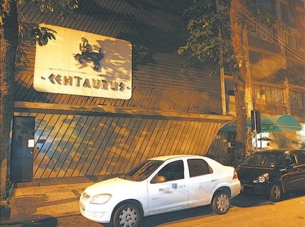 A Termas Centaurus fica localizada na Rua Canning em Ipanema, Rio de Janeiro