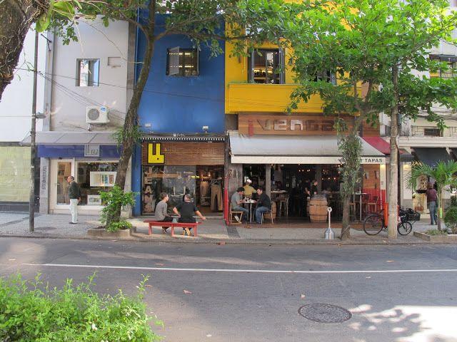 Rua Garcia D'Ávilaem Ipanema, Rio de Janeiro