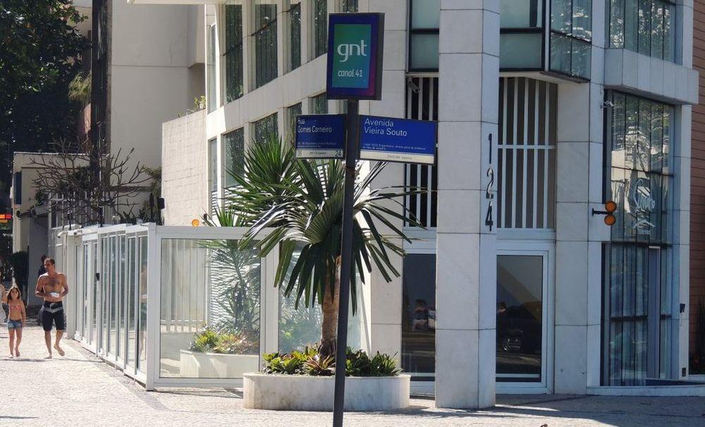 Rua Gomes Carneiro esquina com Avenida Vieira Souto em Ipanema, Rio de Janeiro