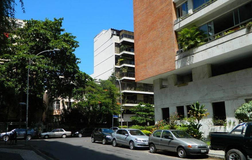 Rua Gorceix em Ipanema