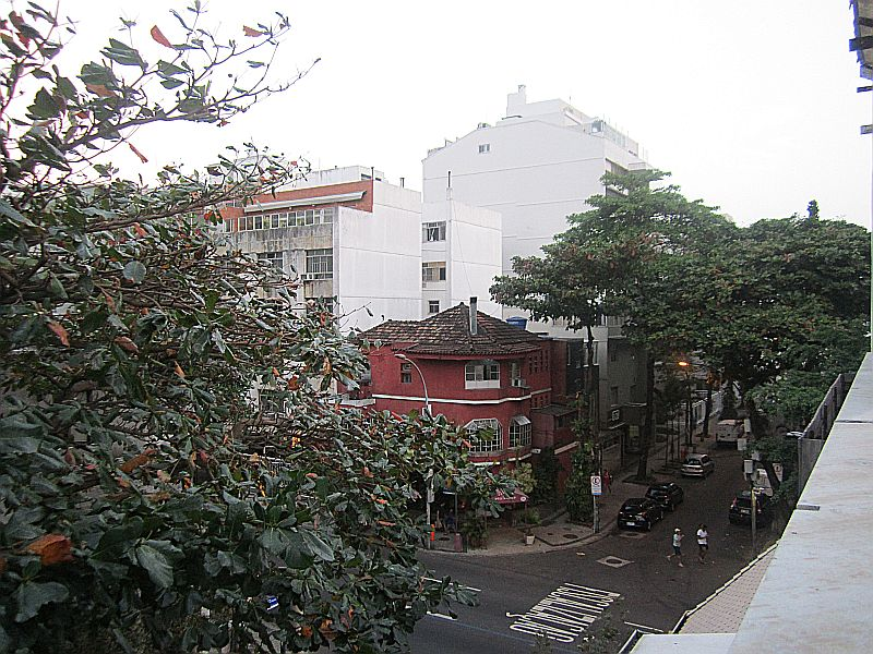 Rua Paul Redfern em Ipanema