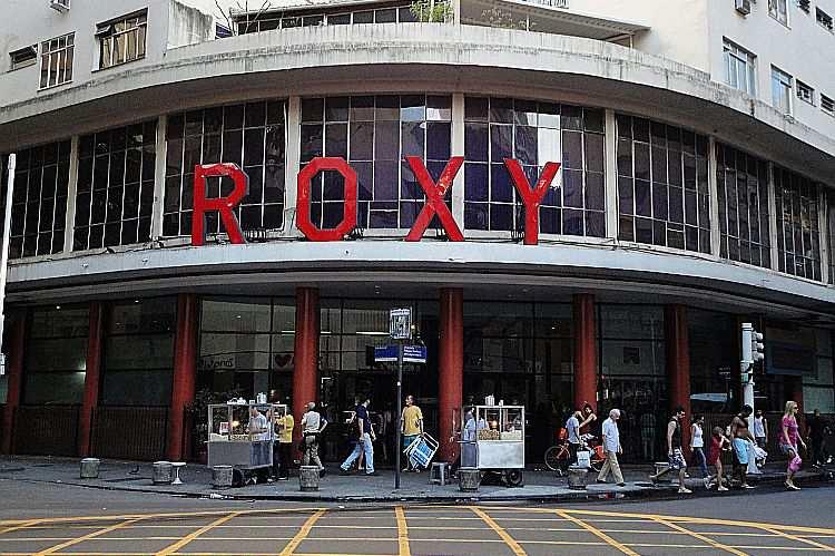 O Cinema Roxy em Copacabana é um dos palcos do Festival do Rio