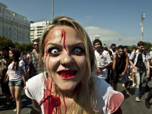 Zombie Walk Copacabana 2014