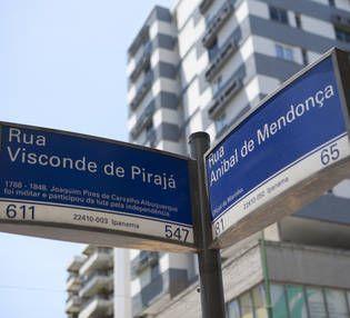 Rua Visconde de Pirajá