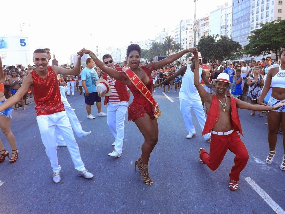 Desfile da Alegria da Zona Sul, janeiro/2015