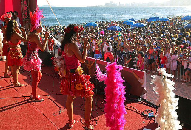 Bloco Mulheres de Chico no Leme 2015