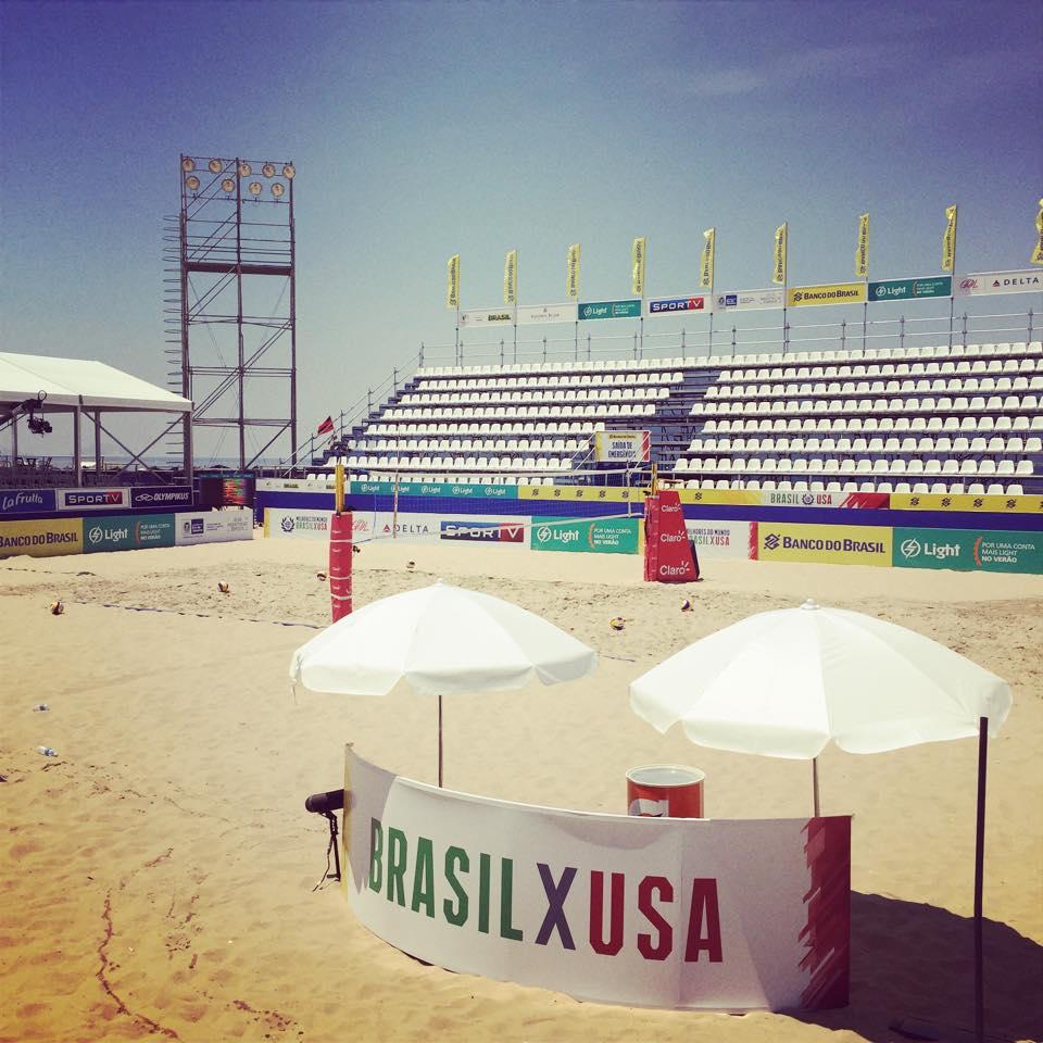 Arena do Volei de Praia em Copacabana