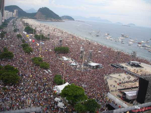 Rolling Stones em Copacabana