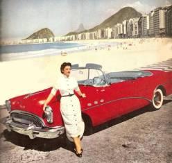 Avenida Atlântica em 1954