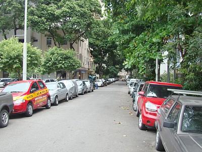 Rua Felipe de Oliveira perto do tunel novo em copacabana
