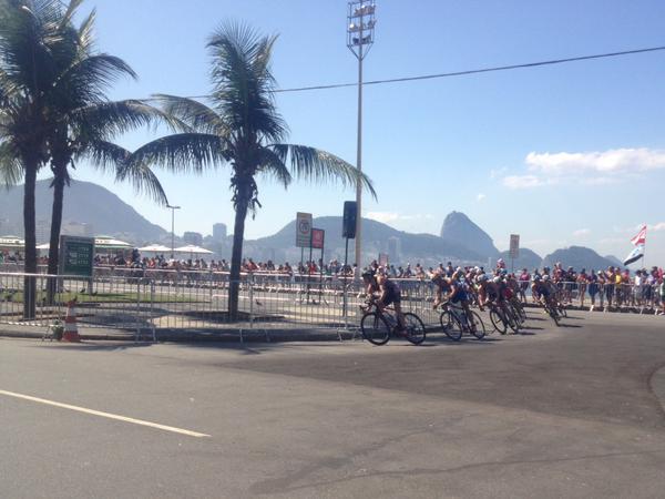 Triatlon em Copacabana
