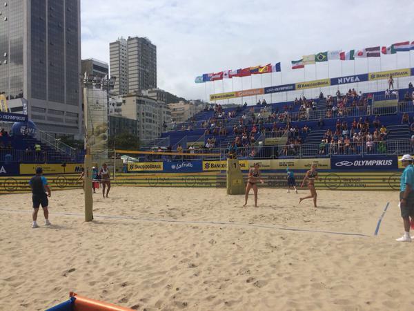 Volei de Praia na Arena de Copacabana