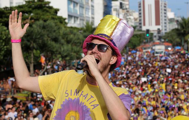 Orla de Ipanema lotada no Pré-Carnaval 2016