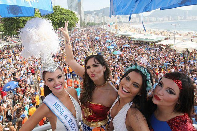 Bloco da Favorita em Copacabana