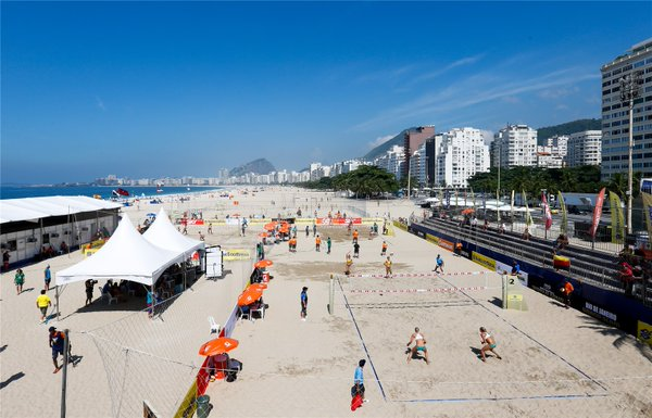 RIO GRAND SLAM 2016 - FIVB World Tour em Copacabana - Arena do volei