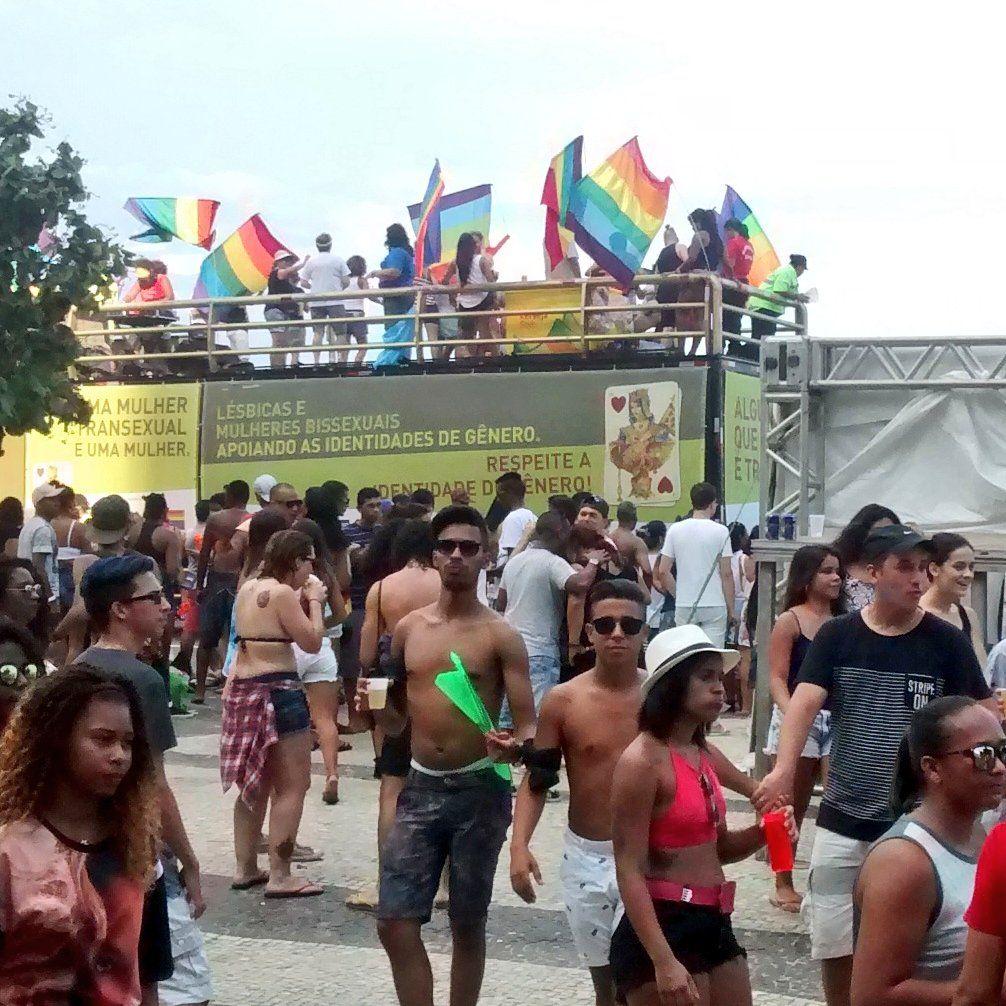 21ª Parada do Orgulho LGBT Rio em Copacabana, Rio de Janeiro, 11/12/2016