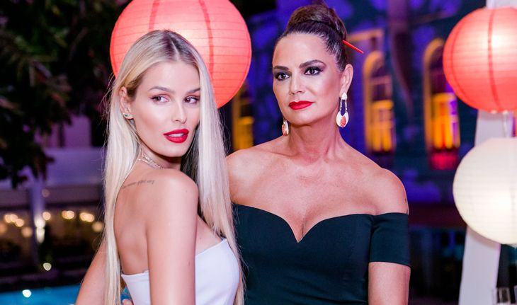 Luiza e Yasmin Brunet no Baile do Copacabana Palace 2017