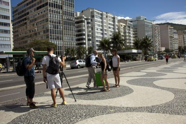 Filmagem em Copacabana