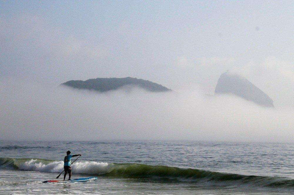 Maratona Aquática Rei e Rainha do Mar na Praia de Copacabana