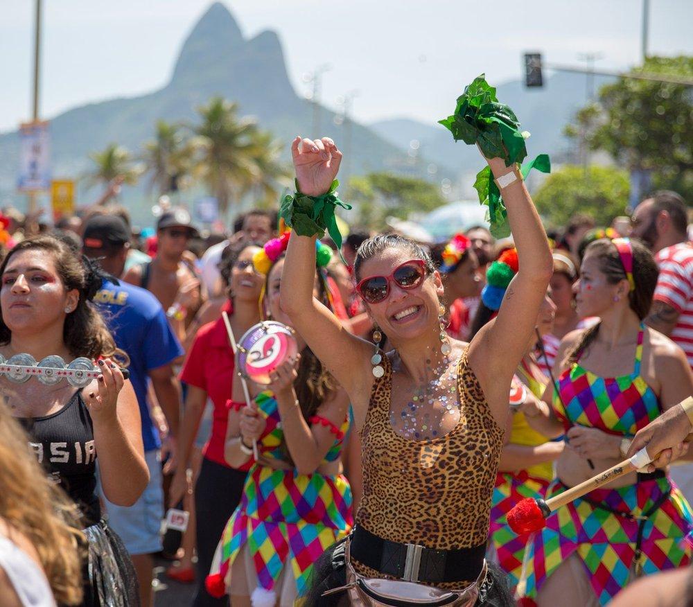 Foliã no Bloco Empolga as 9 em Ipanema
