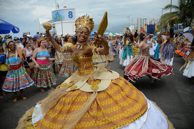 Desfile Rio Maracatu em Ipanema