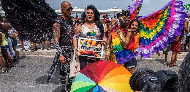 Cidadania na 20ª Parada LGBT em Copacabana