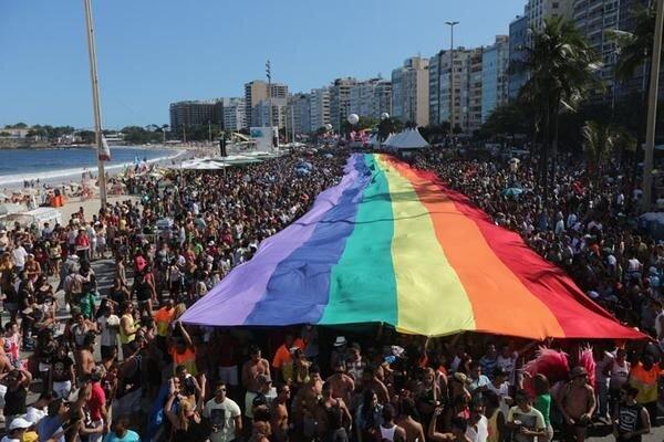 Bandeira da Igualdade - Parada LGBT 2015