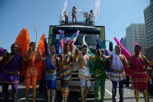 Parada Gay 2016 em Copacabana.