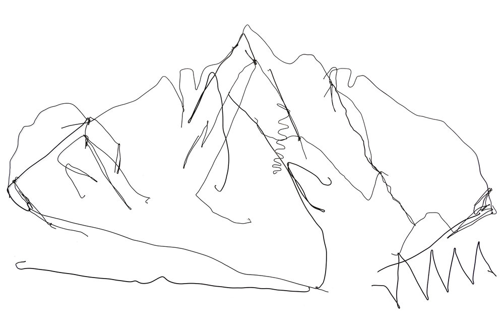 Filaments 3 (or the Memory of a Mountain)