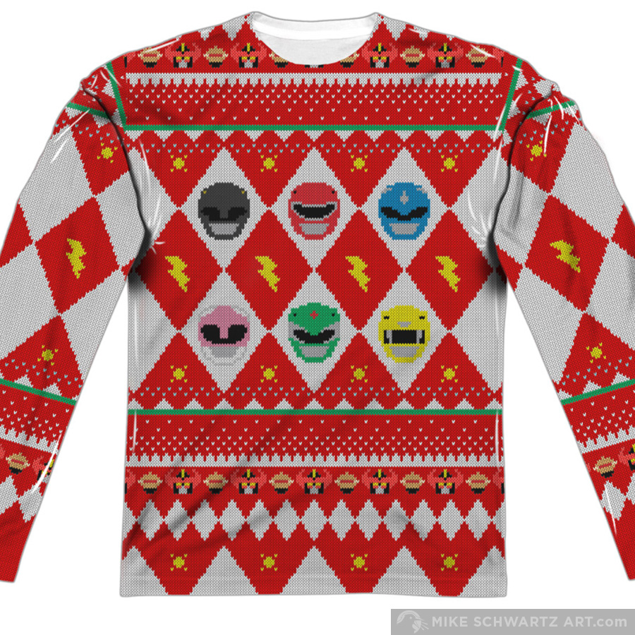 Mike-Schwartz-Illustration-Apparel-Power-Rangers-Christmas.jpg