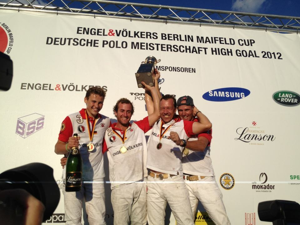 James Miller and team win the German Open Championship!