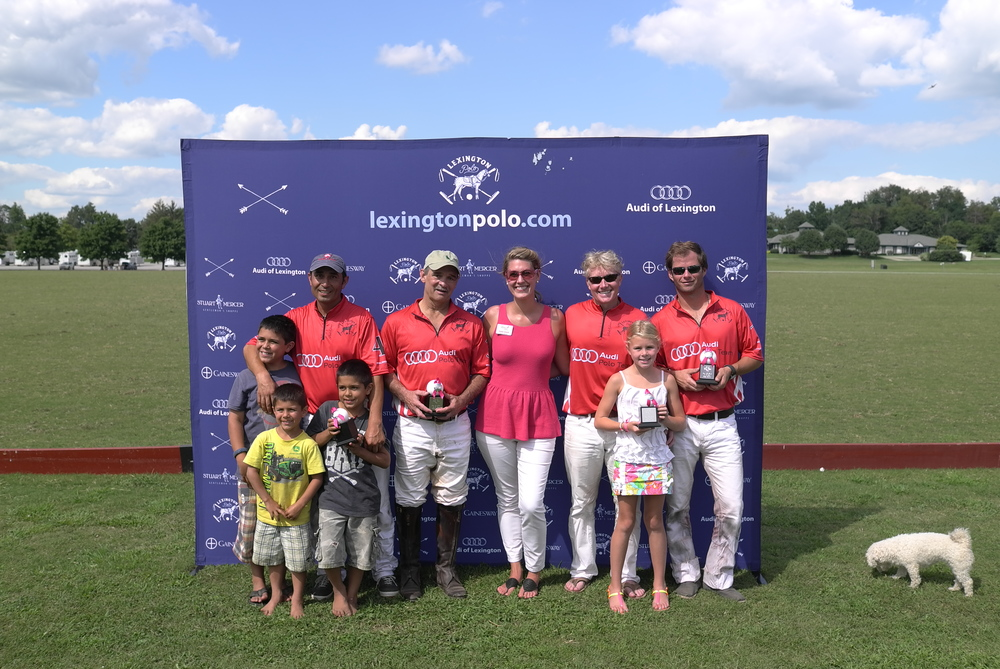 Audi of Lexington - Pink Polo Cup runner up
