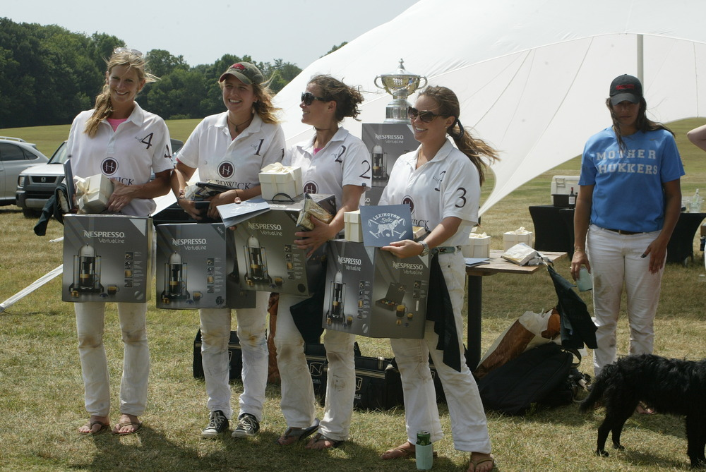 Natalie Henton, Cary Campbell, Martha Bennett, Kelly Brophey