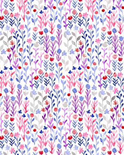 The Winter Series: Field Floral Print