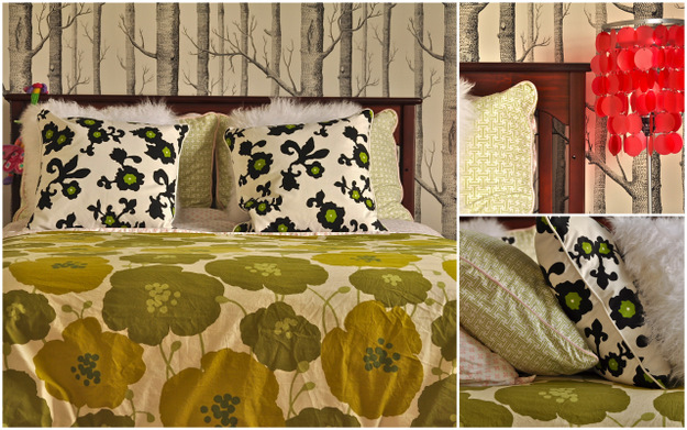 cole and sons woods wallpaper girl's bedroom