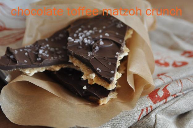 chocolate toffee matzoh crunch