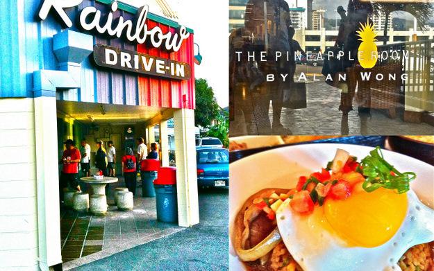 Rainbow Drive-in and Alan Wong - Honolulu, Hawaii - Sandra Harris
